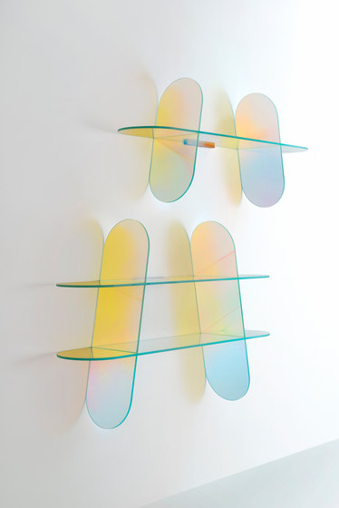 Shimmer tavolini by Glas Italia