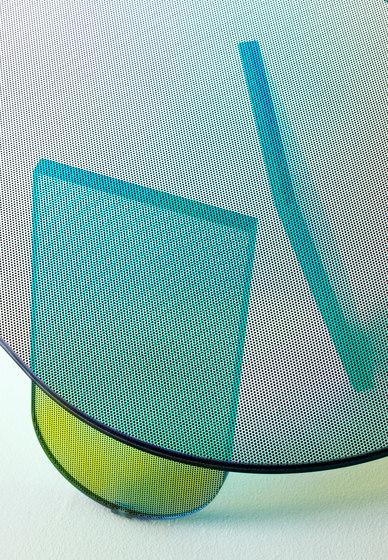 Shimmer tavolini de Glas Italia