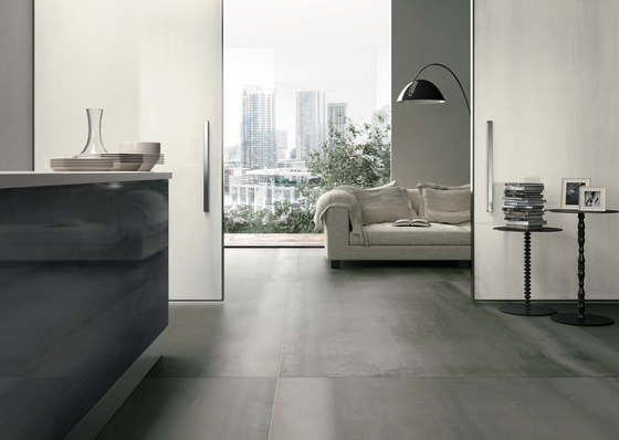 Great metals | zinc titanium by Porcelaingres