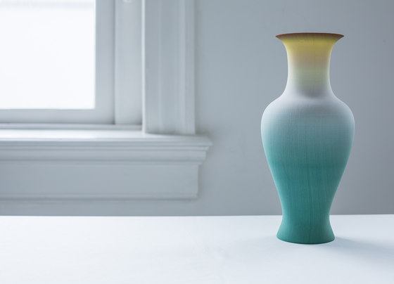 Family vase - yellow by Droog