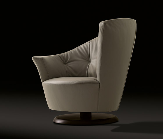 Arabella Swivel Armchair by Giorgetti