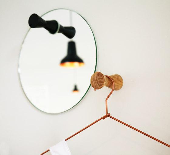 Wandhaken doppel by Soeder