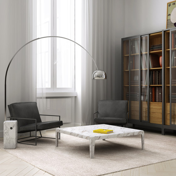 Rock side table tall von Eponimo