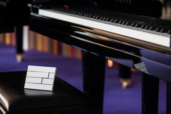 Piano by Lithoss | uni colour socket RAL7022 by Lithoss