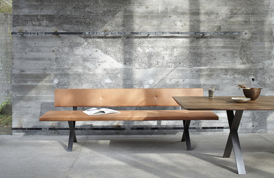 Lax | Upholstered Bench Wall-Mounted de more