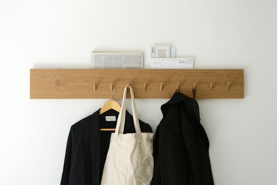 Coat rack and mail holder by Bautier