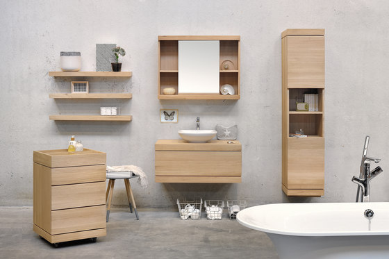 cadence wall mounted base unit vanity units from ethnicraft architonic. Black Bedroom Furniture Sets. Home Design Ideas