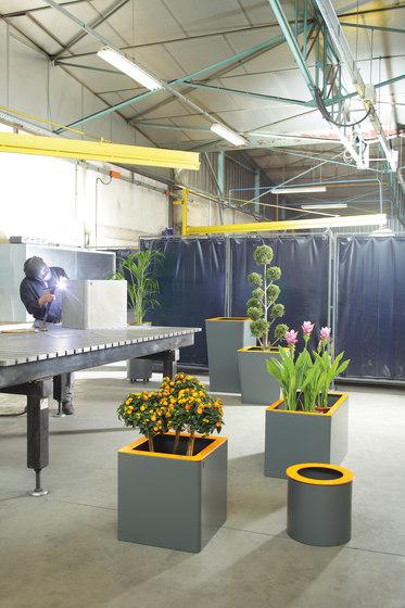 Jardinières rectangular de TF URBAN