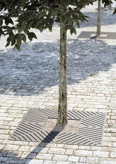 Tecna tree grate by Concept Urbain