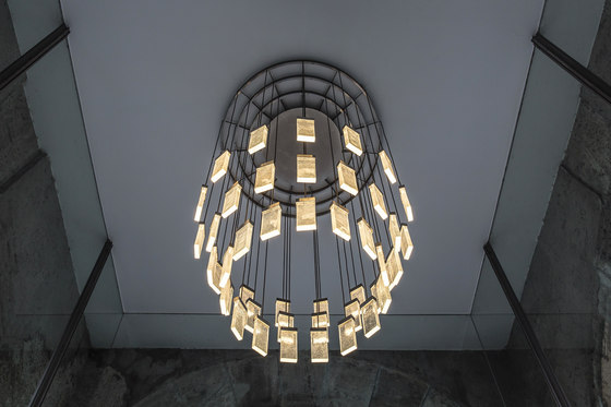 GRAND CRU chandelier  – ceiling light de MASSIFCENTRAL