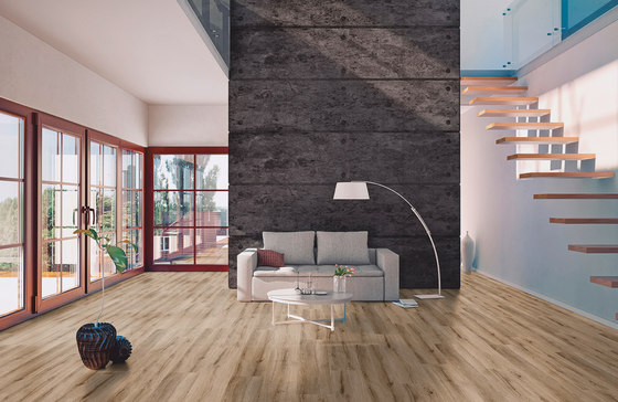 SimpLay Acoustic Clic Natural Concrete by objectflor