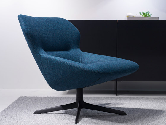 ray swivel chair 9252/A de Brunner