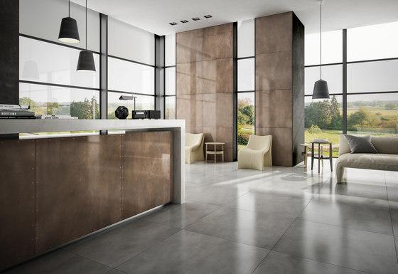 Steeltech corten lappato by Casalgrande Padana