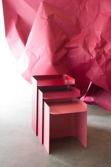 Flor nested tables by Matière Grise