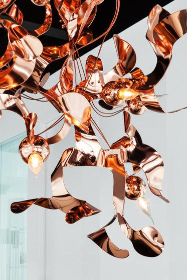 Kelp chandelier conical de Brand van Egmond