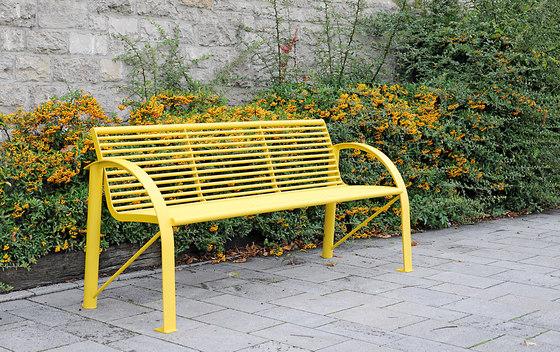 Siardo 120R bench di BENKERT-BAENKE