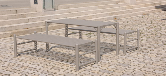 Siardo 130R Table by BENKERT-BAENKE