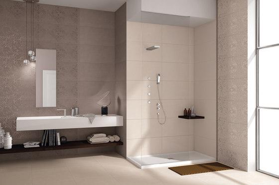 visual design by ceramiche supergres visual white. Black Bedroom Furniture Sets. Home Design Ideas
