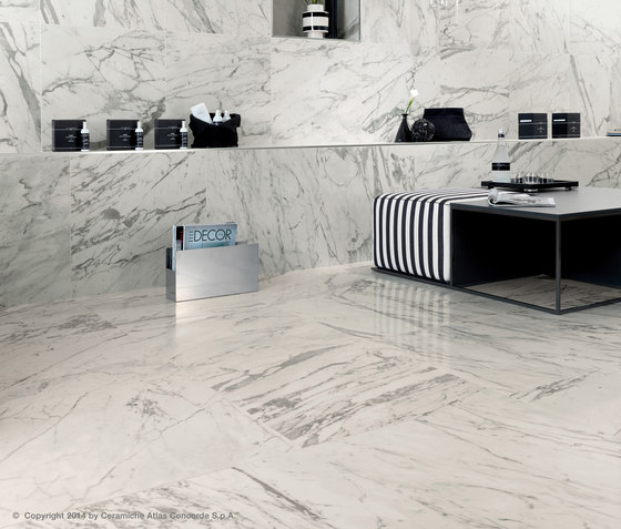 Marvel PRO Travertino Silver Floor matt by Atlas Concorde