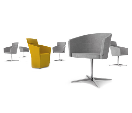 PARCS Club Chair high by Bene