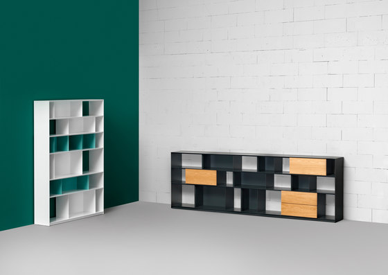 Stack Shelfsystem by Müller Möbelfabrikation