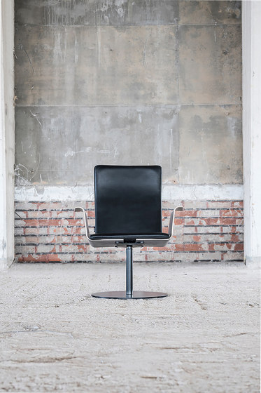 Duo | conference chair with armrests, high de Isku