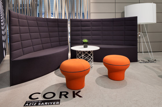 Cork Pouffe by Nurus