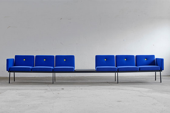 System furniture for waiting rooms EJ 2100 de Erik Jørgensen