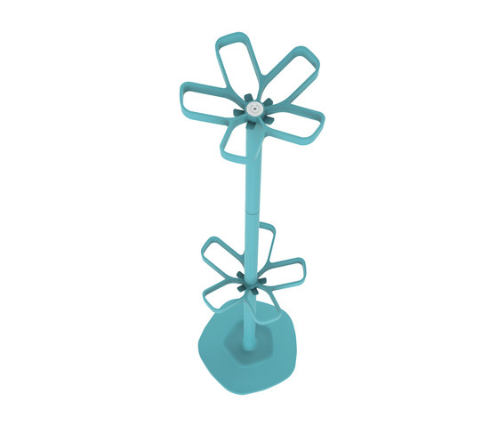 Flower umbrella stand by Cascando