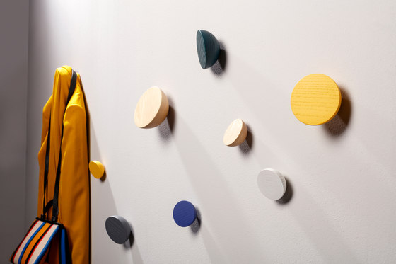 Hemisphere coat hook by Cascando