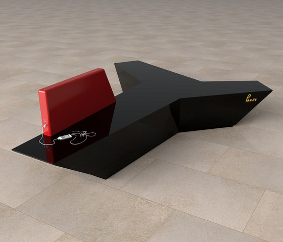 Pause P 101X + backrest by AMOS DESIGN