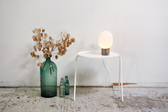 JWDA Metallic Lamp|Brushed Steel by MENU
