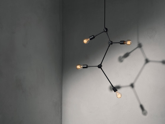 Tribeca Series | Harrison Chandelier Black by MENU