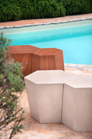 Hexagon stool by CASAMANIA & HORM
