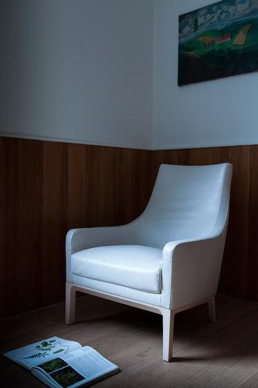 Miles armchair/footstool de Linteloo