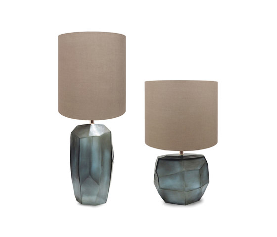 Cubistic tablelamp round de Guaxs