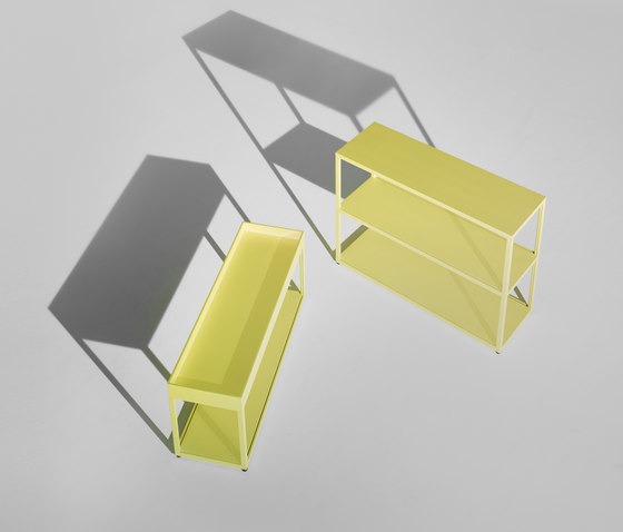 New Order Home Irregular Open Shelf with Trays by Hay