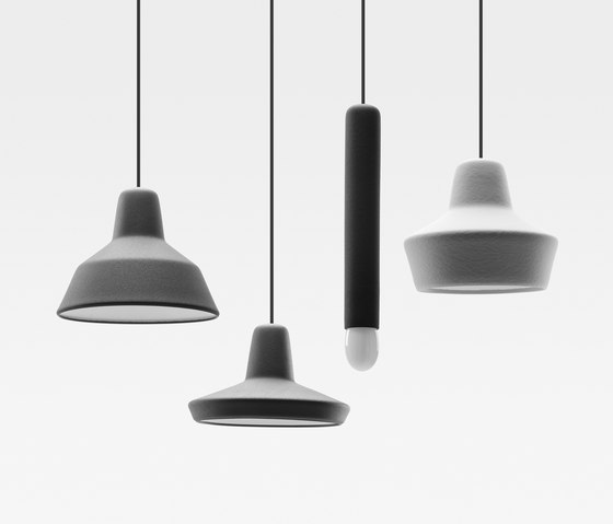 LW 3 Rubber Pendant Lamp by De Vorm