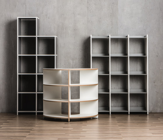 Classic Exclusive shelf-system by mocoba