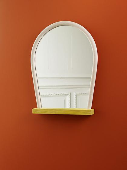 Bent Wood Mirror von Hay