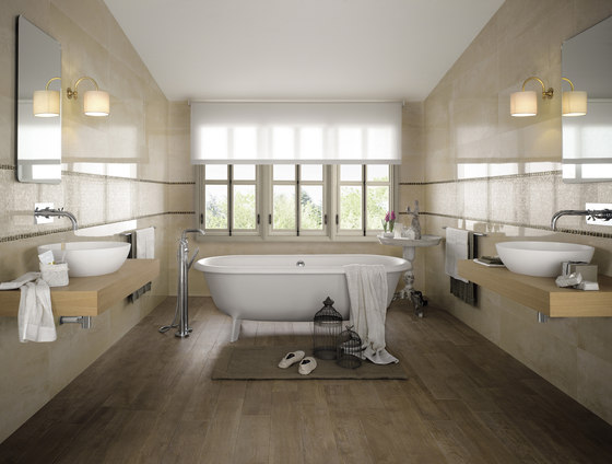 Evoque Palladio Earth White Angolo Destro Floor de Fap Ceramiche