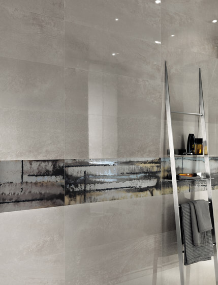 Evoque Plissé Earth  Wall de Fap Ceramiche
