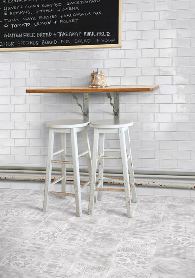 Betonepoque White-Grey Amelie by TERRATINTA GROUP