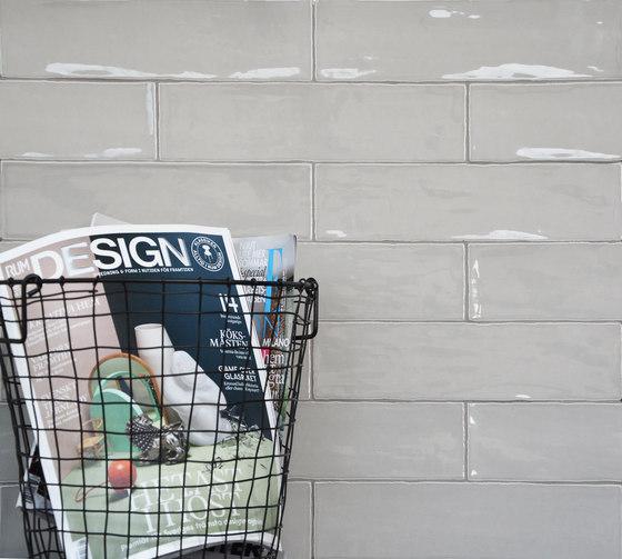 Betonbrick Wall White Glossy di TERRATINTA GROUP