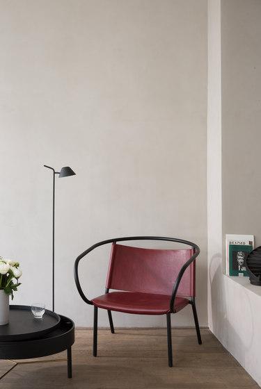 Turning Table | White Oak/Black Chrome by MENU