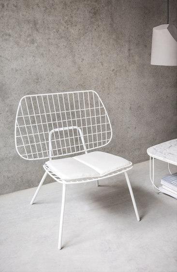 WM String Cushion | Indoor/Dining Light Grey de MENU