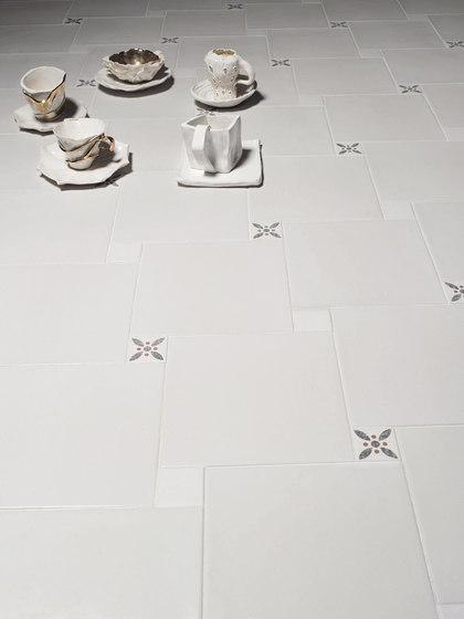 Le Crete Hexagon Terra Nera by Valmori Ceramica Design