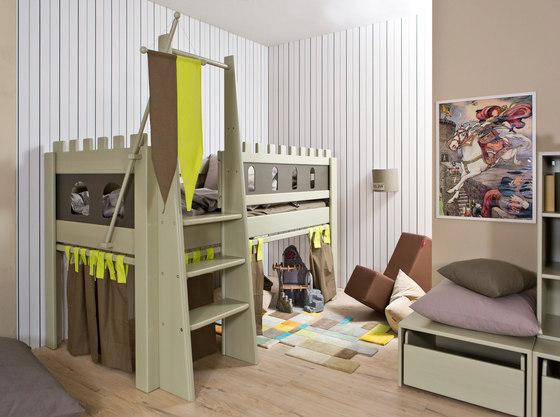 lit ch teau fort de de breuyn lit bas. Black Bedroom Furniture Sets. Home Design Ideas