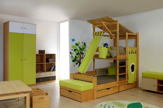 Treehouse Bed di De Breuyn