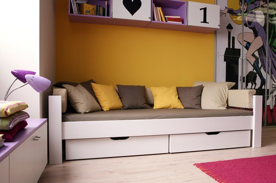 Youth Loft Bed DBB-100B-140 by De Breuyn
